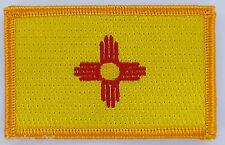 Ecusson Brodé PATCH drapeau NOUVEAU MEXIQUE  New Mexico USA FLAG EMBROIDERED