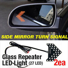 Side View Mirror Turn Signal Glass Repeater LED Module Sequential For MITSUBISHI