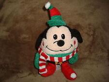 "Disney Store Round Elf Goofy Plush 9"" tall"