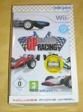 JEU WII / GP CLASSIC RACING + VOLANT / RARE / NEUF SOUS CELLO