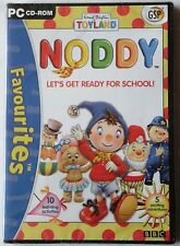 Noddy lets get ready for school pc cd-rom bbc game brand new & sealed!
