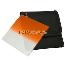 "FOTGA 4 X4"" Gradual Graduated Orange filter for Matte box Cokin Z Hitech Holder"