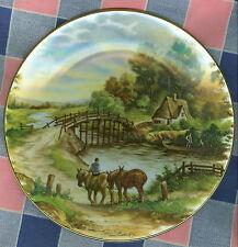 "Collector Plate Royal Grafton Van Hunnik No. 3 Homeward Trek 7 5/8"" Across"