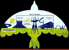 3126 BRAZIL 2010 UNUSUAL, ARCHITECTURE, BIRDS, DREAM AND REALITY, BRASILIA, MNH