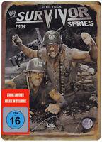 WWE Survivor Series 2009 STEELBOOK DVD DEUTSCHE VERKAUFSVERSION NEU