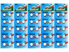 50 x EUNICELL  AG13, G13, SR44, LR44, A76, V13GA, PX76A, 357 Button Batteries UK