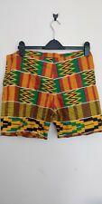 Handmade African Shorts Size 12/14
