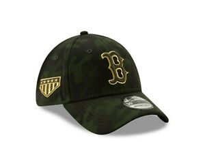 Boston Red Sox New Era MLB Armed Forces Day 39THIRTY Flex Hat