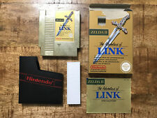 The Adventure Of Zelda II Link - Nintendo NES - OVP/CIB - PAL B / NOE