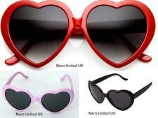 Girls Children Kids Holiday Party Heart Shaped Love Sunglasses Shades UV400 UK