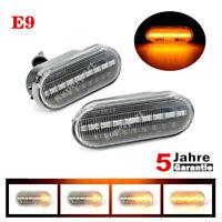 2x DYNAMISCHE LED SEITENBLINKER BLINKER für VW GOLF 3 4 PASSAT POLO T5 SHARAN