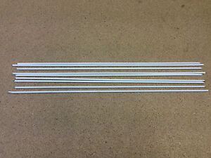 ** Flux Coated Brazing Rods 3.2mm x 300mm 9 off ** General Purpose **