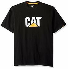 Caterpillar CAT Short Sleeve Tee T Shirt - Black Size LARGE