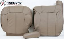 1999 Chevy Silverado -Driver Side COMPLETE Replacement Leather Seat Covers TAN-