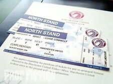 Dream Team - Harchester United HUFC Prop Football Match Tickets