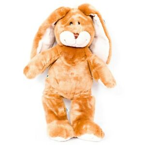 "Build a Bear Lil Floppy Bunny Plush 15"" VTG 2003 Tag Brown Rabbit Stuffed BABW"