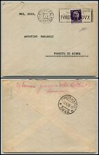 REGNO - 50 cent Imperiale(251) Fuhrer/Dux su busta x Torrita di Siena 7.5.1938