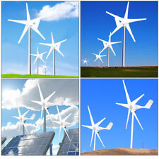 Wind Turbine Generator Unit 5 Blades Dc 12v With Power Charge Controller