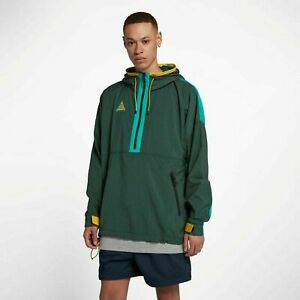 Men's Nike ACG Woven Hooded Jacket -Atomic Teal -Size XL -931907 375 -NEW-