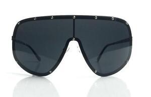 SHIELD Studded Oversized Huge Women Futuristic Designer Sunglasses Owens