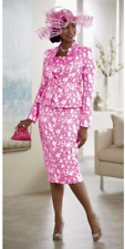 size 8 Charra Skirt Suit Church Wedding Special Event by Ashro new