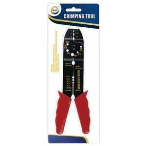 Crimping Tool Electrical Wire Cable Cutter Stripper Pliers Cutting HQ DIY