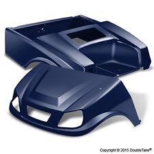Club Car DS Spartan Golf Cart Navy Blue Body Set & Light Kit Color Through Body