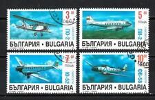 Avions Bulgarie (47) série complète de 3 timbres oblitérés