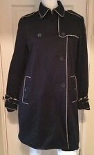Gap Knee Length Cotton No Pattern Coats & Jackets for Women