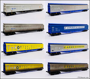 Heljan OO Gauge Cargowaggons, Various Choices available, combined postage.