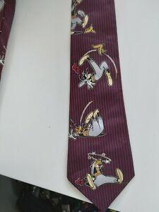 Men's Disney Goofey Silk Tie