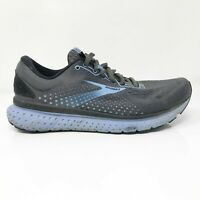 Brooks Womens Glycerin 18 1203171D050 Dark Gray Running Shoes Lace Up Size 8 D