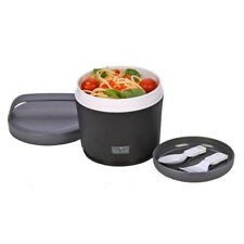 Polar Gear Black Microwaveable Insulated Lunch Bowl With Carry Handle BPA Free