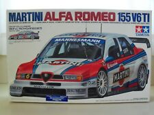 TAMIYA - MARTINI ALFA ROMEO 155 V6 TI RACE CAR - MODEL KIT (CONTENTS SEALED)