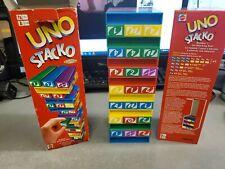 Mattel Uno Stacko Blocks Game