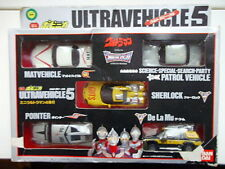 ULTRAMAN Car collection.....BanDai mint in box.....Rare.... ca. 1: 75 Godzilla