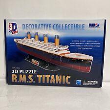 "New 3D Puzzle R.M.S. Titanic Decorative Collection CF4011H Over 31"" Long"