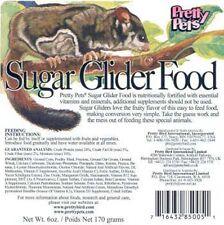 Pretty Pets Sugar Glider Food (2 Pack of 12oz Bags) 24oz Total