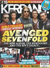KERRANG! #1474 JUL 2013: AVENGED SEVENFOLD Five Finger Death Punch LETLIVE