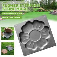 1X Stepping Stone Mold Pavement Mold Concrete Cement Mould Garden Decor Hot Sale