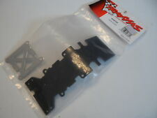 New Traxxas T-Maxx Plastic Rear Skidplate & Stainless Steel Plate 4938