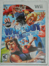 Wipeout: The Game (Nintendo Wii, 2010) with Plastic Case & Free Shipping