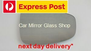RIGHT DRIVER SIDE MAZDA CX-5 2012 -2014 MIRROR GLASS WITH HEATER BASE