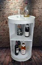 Regal Beistelltisch Tisch Ölfass Tonne H80 cm Industrie Look Loft Vintage LV5025