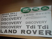 LAND Rover Discovery Adesivo Decalcomania In Vinile Set Discovery 90 110 td5 TDI