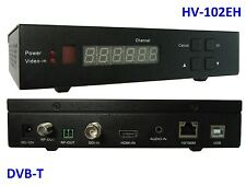 HV-102EH HDMI/ SDI/ HD-SDI/ CVBS-in, DVB-T out, w/ 1.2GHz for HAM TV