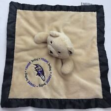 Ravens Baby Security Lovey Blanket Football Soft Snuggly
