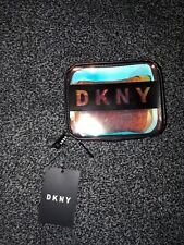DKNY Mirror Small Cosmetics Pouch Purse Bag Makeup Brand New BNWTS