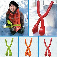 Winter Snowball Makers Pliers Former Snowball Clip Fights Kids Toy