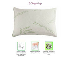 SnuggleUp™ - Luxury Bamboo Memory Foam Anti-Allergenic Breathable Cot Pillow